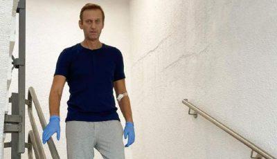 """Aleksei Navalnîi cere Moscovei să-i înapoieze hainele pe care le purta în ziua otrăvirii. """"M-au trimis gol în Germania"""""""