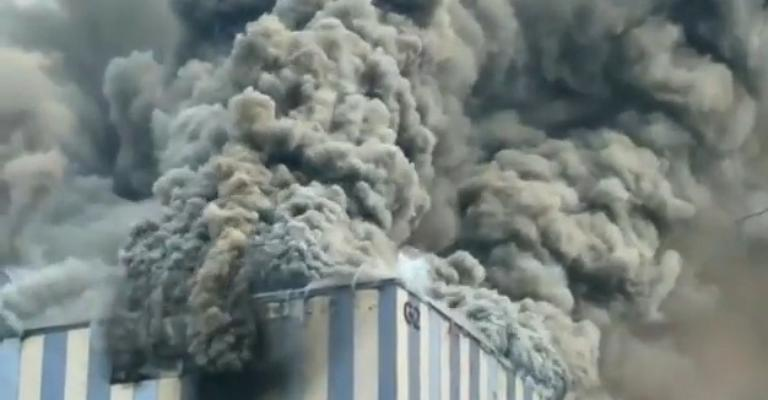 Video. Incendiu la sediul Huawei din China!