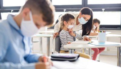 Nouă clase de la un liceu din Bălți au intrat în carantină