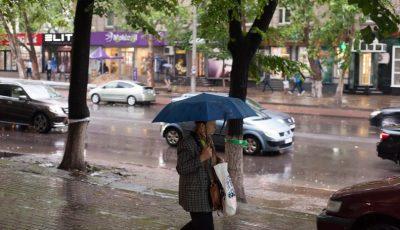 Ploaia puternică a făcut ravagii în Capitală