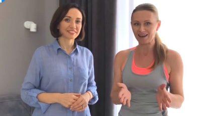"""Antrenamente noi pentru toate participantele celei de-a 11-a ediții a proiectului ,,Galina Tomaș îți cumpără kilogramele""""!"""