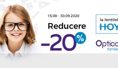 Ochelari pentru copii, cu promoţii speciale la Optica Familiei!