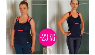 Oxana a reușit să slăbească 23 de kg! Urmează-i exemplul. Începe și tu lupta cu kilogramele în plus!