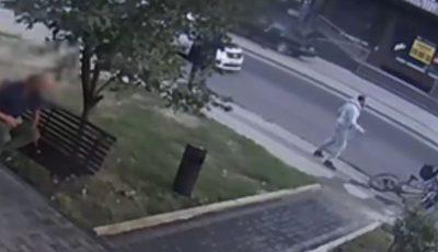 Un bărbat de 35 de ani, atacat și deposedat de bicicletă pe strada Sarmisegetuza