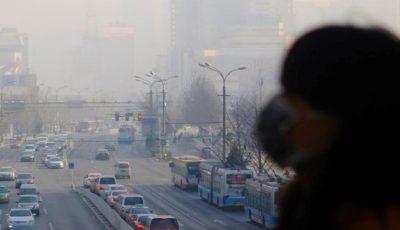 În Republica Moldova, aerul poluat cauzează 12% din numărul total de decese