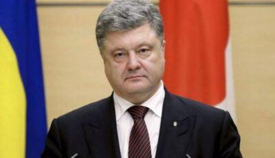 Fostul preşedinte ucrainean Petro Poroşenko, internat cu pneumonie bilaterală Covid-19