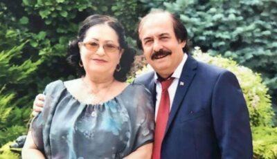 Nicolae Botgros și Lidia Bejenaru sărbătoresc 49 de ani de căsnicie. Mesajul emoționant al dirijorului