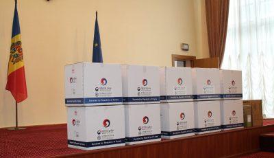 Coreea de Sud a donat 150 de laptopuri pentru școlile din Moldova