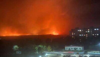 Incendii în Ucraina: ard circa 9.300 de hectare de vegetaţie. Nouă oameni au murit
