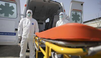 Medicii și polițiștii infectați la locul de muncă vor primi 16.000 de lei