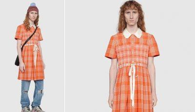 Gucci a creat rochia pentru bărbaţi