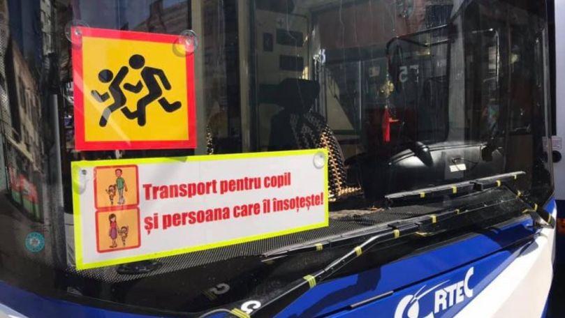 Foto: RTEC a suspendat circulația troleibuzelor destinate elevilor