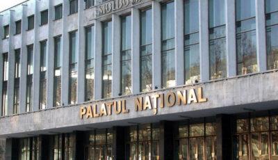 """Palatul Național își redeschide ușile. Primul concert va fi susținut de Ansamblul de cântece și dansuri populare """"Fluieraș"""""""