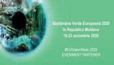 Moldova marchează Săptămâna Verde Europeană 2020