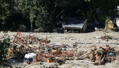 Inundațiile au măturat cadavrele din mai multe cimitire din Franța