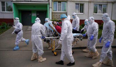 Situație gravă în Rusia: 320 de oameni au murit de Covid în ultimele ore