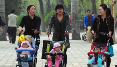 Se împlinesc 5 ani de când China a renunțat la politica copilului unic. Cu cât a crescut populația țării?