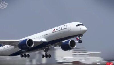 Peste 400 de pasageri au refuzat să poarte mască la bordul unui avion. Reacția companiei
