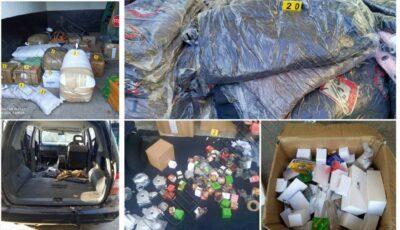 Un Mercedes cu bunuri de jumătate de milion de lei, găsit abandonat la vamă