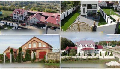 Case de milioane construite și părăsite, într-un sat din Moldova