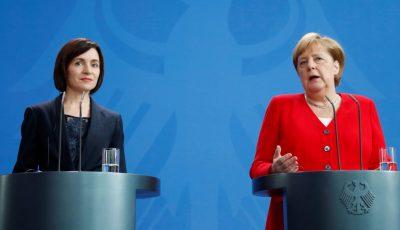 Angela Merkel sprijină candidatura Maiei Sandu la alegerile prezidențiale
