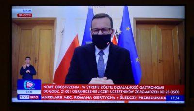 """""""Rămâneți acasă!"""". Polonia reintroduce restricții dure la nivel național"""