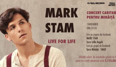 Mark Stam va susține un concert inedit pentru a-l ajuta pe Mihăiță! Află cum îl poți ajuta și tu!