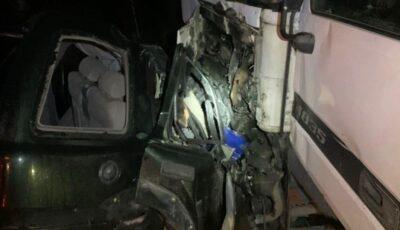 Accident teribil la Orhei: cel puțin 3 morți. Un TIR a intrat în coliziune cu un automobil