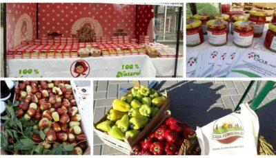 """La piața """"Casa Fermierului"""" producătorii autohtoni vă așteaptă în fiecare weekend cu diverse bunătăți"""
