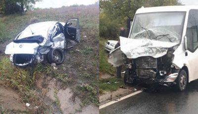 Grav accident în apropiere de Ialoveni