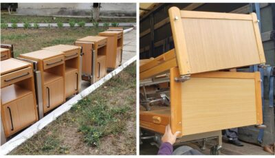 Germania a donat paturi și noptiere pentru spitalul din Căușeni