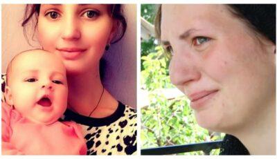 Văduvă la 17 ani. Irina își crește singură fetița, după ce iubitul ei a făcut atac de cord la 24 de ani
