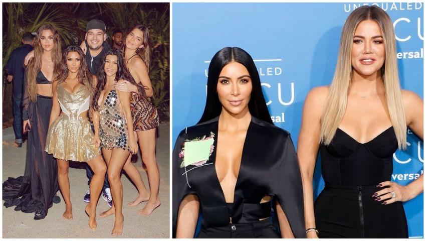 Sora lui Kim Kardashian, depistată cu Covid după ziua de naștere a vedetei pe o insulă privată
