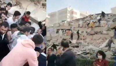 Cutremur în Turcia: oameni scoși de sub dărâmături, mulțimea aplaudă. Imagini video dramatice