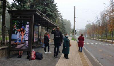 În Chișinău, au fost renovate 28 de stații de așteptare a transportului public
