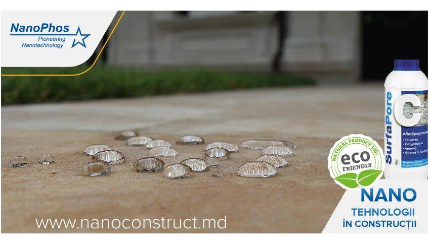 Nanotehnologiile în construcții, acum și în Moldova! Curățarea, protecția și restaurarea suprafețelor!