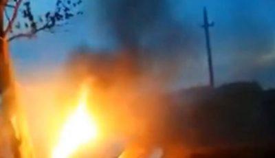 O tânără de 18 ani a ars de vie într-un accident provocat de un șofer beat și fără permis