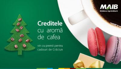 Creditele cu aromă de cafea îți aduc cadouri de Crăciun