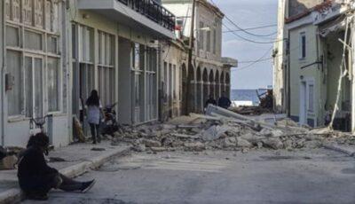 Doi copii care se întorceau de la școală au murit în cutremurul din Grecia