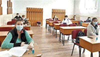 Chișinău: 129 de elevi sunt infectați cu noul virus. Peste 2.000, plasați în carantină