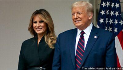 Donald Trump ar fi folosit o dublură pentru a-și înlocui soția. Cum arată Melania Trump în ultimele imagini?