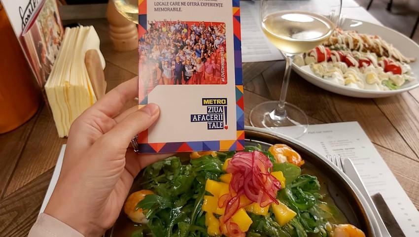 Ziua Afacerii Tale: În semn de solidaritate cu HoReCa, angajații METRO au vizitat restaurantele locale sau au comandat online bucatele preferate