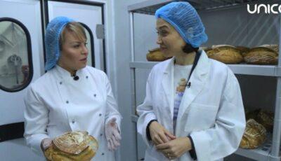 Galina Tomaş: Despre beneficiile pâinii pe bază de maia, plămădită şi coaptă la Granier