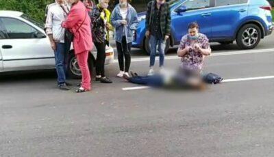 Accident în Capitală: o femeie a zburat doi metri, după ce a fost tamponată pe trecerea de pietoni