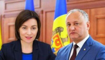 95% din procese verbale, prelucrate: Maia Sandu – 52,33%, Igor Dodon – 47,67%