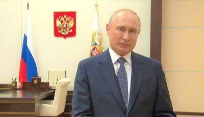 Vladimir Putin o felicită pe Maia Sandu pentru câștigarea alegerilor prezidențiale din Republica Moldova