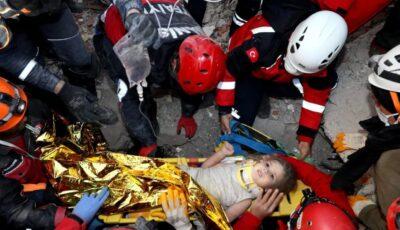 Turcia: fetița de 3 ani salvată în urma cutremurului, a rămas fără mamă