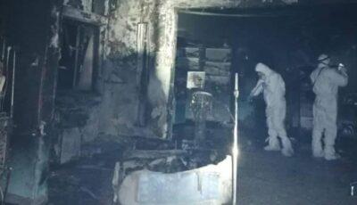12 morți în spitalul din Piatra Neamț. Primele imagini cu salonul de terapie intensivă, mistuit de flăcări