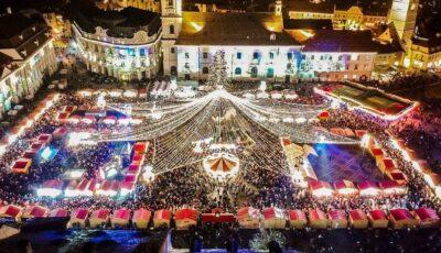 Târgul de Crăciun din Sibiu, anulat oficial din cauza coronavirusului