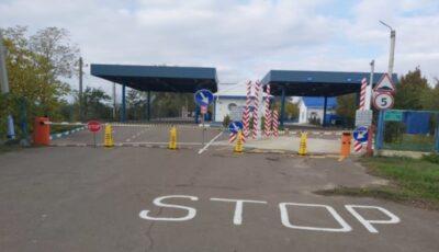 Două puncte de trecere a frontierei moldo-ucrainene își reiau activitatea